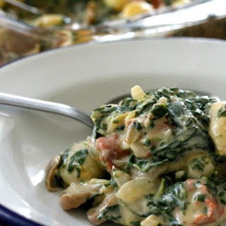 Gnocchi and Spinach Skillet