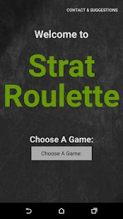 Strat Roulette - náhled