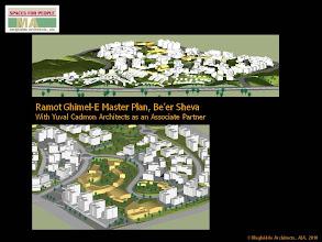 Photo: Ramot Ghimel-E Master Plan, Be'er Sheva, Israel