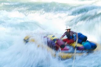 Photo: Whitewater rafting on the Main Salmon River in central Idaho.