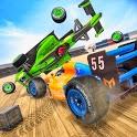 Formula Car Crash Derby : Demolish Car Games 2020 icon