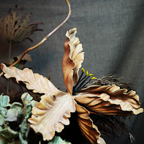 Fabric Flowers Still Life by Renee LaFlesh - Artistic Objects Other Objects