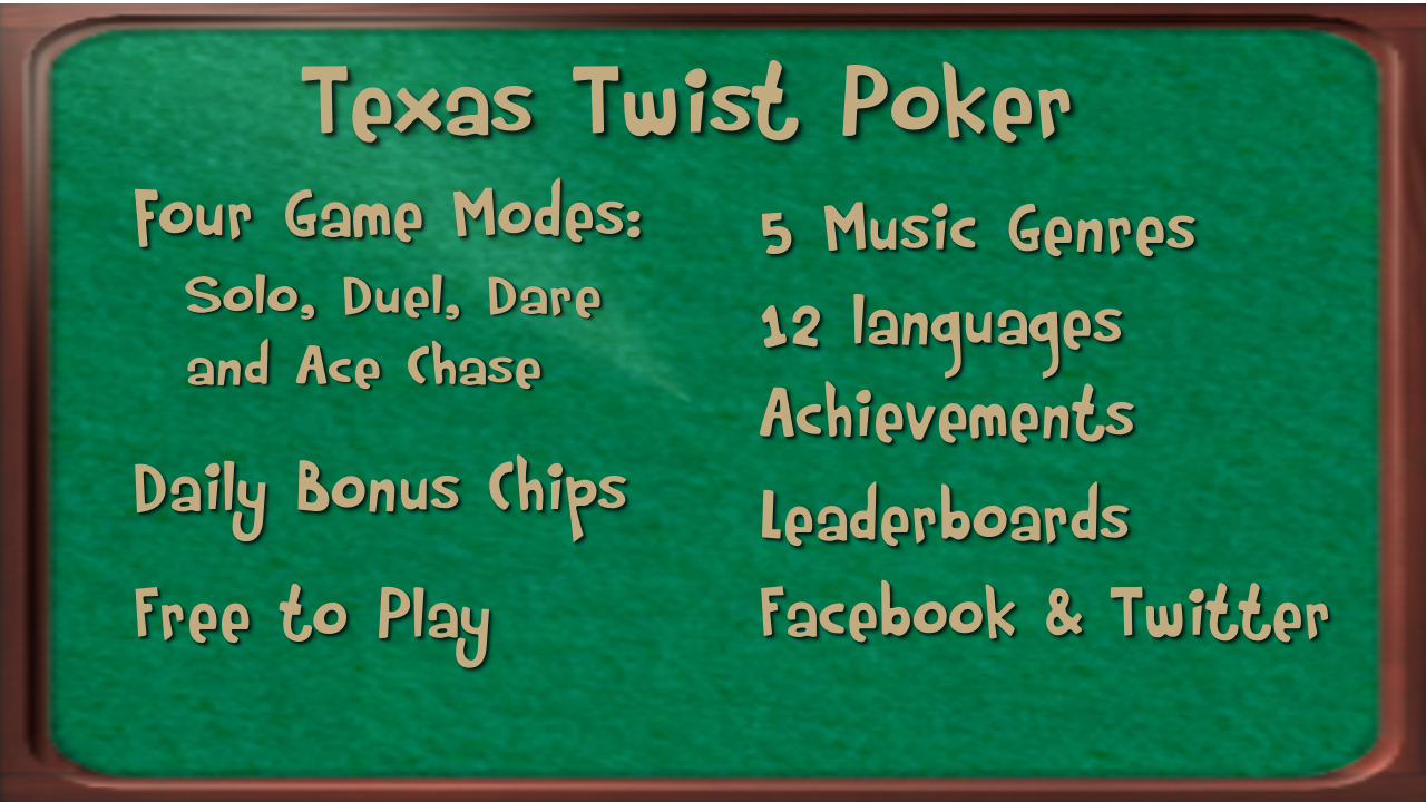Texas Twist Poker- screenshot