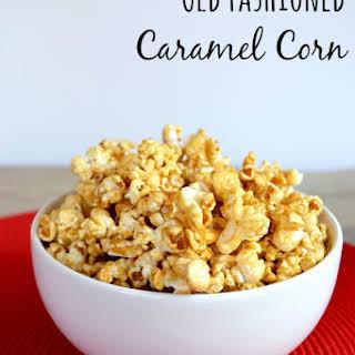 Old Fashioned Caramel Corn.