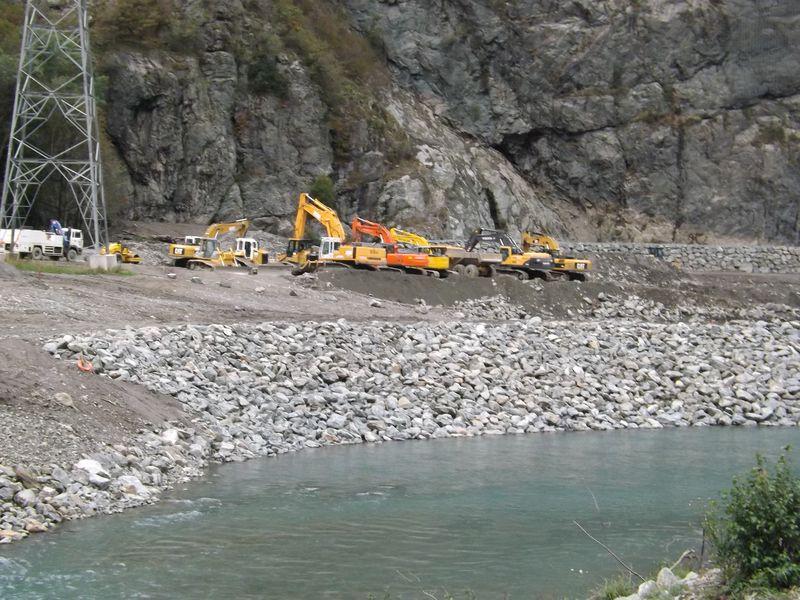 La nouvelle centrale hydroelectrique de la Romanche Livet