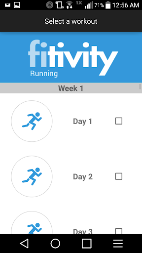 Half Marathon Race Training
