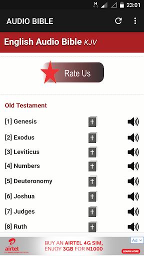 KJV English Audio Bible 1.0.3 screenshots 1