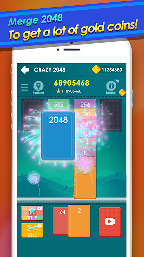 2048 Cards - Merge Solitaire 1.1.4 screenshots 1