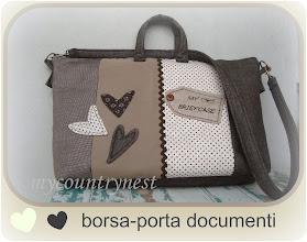 Photo: borsa porta documenti