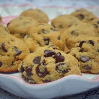 Sugar Free Chocolate Chip Cookies.