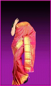 Pattu Saree Photo Suit screenshot 4