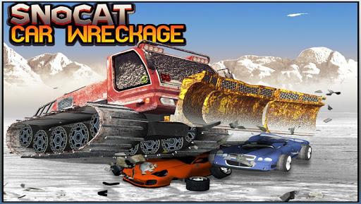 Snocat Car Wreckage