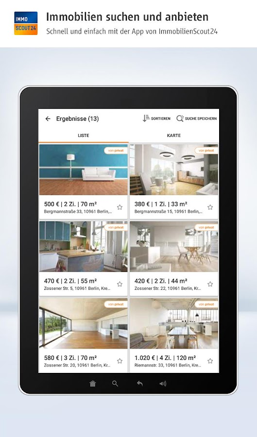 immobilien scout24 android apps auf google play. Black Bedroom Furniture Sets. Home Design Ideas