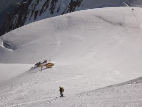 Photo: En unos minutos estarán en Chamonix. A nosotros nos quedan unas 8 o 9 horas.