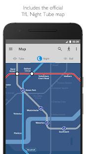 Tube Map London Underground Screenshot 4