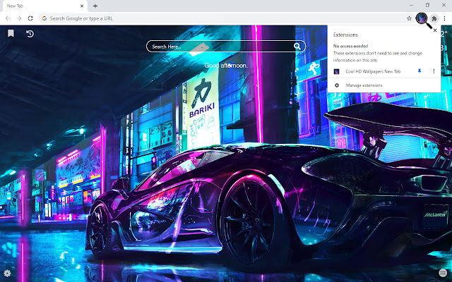 Cool HD Wallpapers New Tab