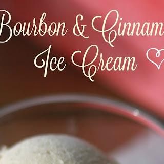 Bourbon and Cinnamon Ice Cream