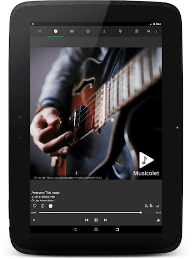 Musicolet Music Player [Free, No ads] screenshots 9