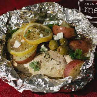 Greek Chicken Potato Packets