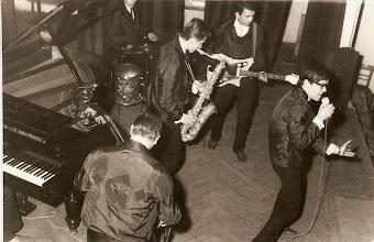 """Photo: Pierwszy  zespół rockowy """"Golderousi"""""""
