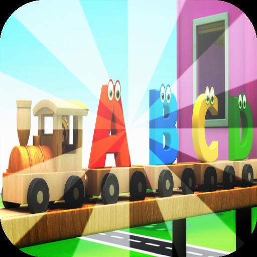 ABCD Alphabet Train song - 3D Animation Alphabet ABC Train ...