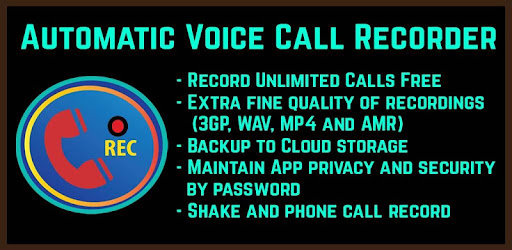 Automatic Voice Call Recorder Unlimited Recording - Apps on