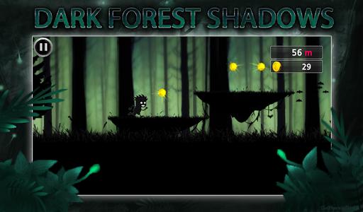 黑暗的森林陰影