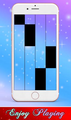 Taki Taki Selena Gomez, Ozuna Piano Black Tiles screenshot 2