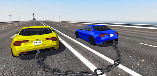 Come Play The Impossible Chained Car Game With Us
