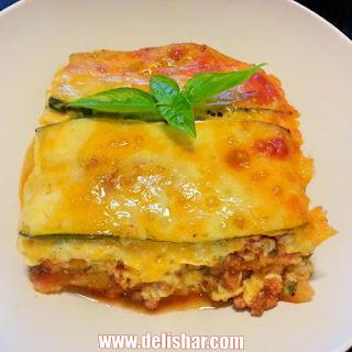 Zucchini Layered Lasagna