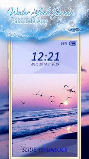 Voda Zámek Obrazovky Aplikace - náhled