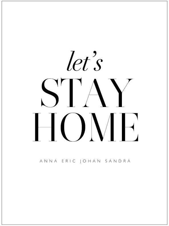 LET'S STAY HOME  - FAMILJETAVLA
