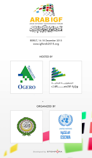 Arab IGF 2015- screenshot thumbnail