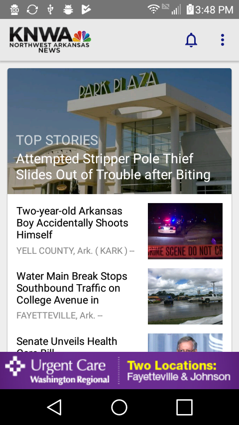 KNWA & Fox24 News- screenshot