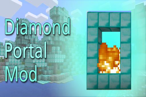 Diamond Portal Mod PE
