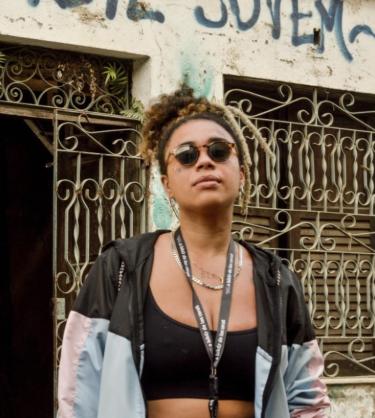 Lívia Suarez, idealizadora do projeto La Frida Bike