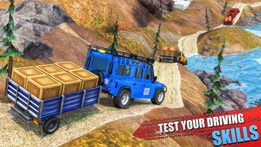 Offroad Jeep Driving & Parking screenshot 2