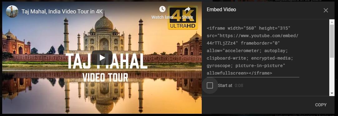 Embed Video in WordPress