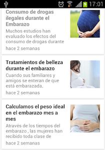 Semanas de Embarazo screenshot 6