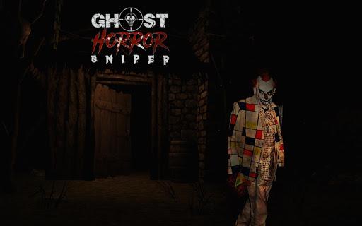Télécharger gratuit Horreur Sniper - Clown fantôme dans les morts APK MOD 1