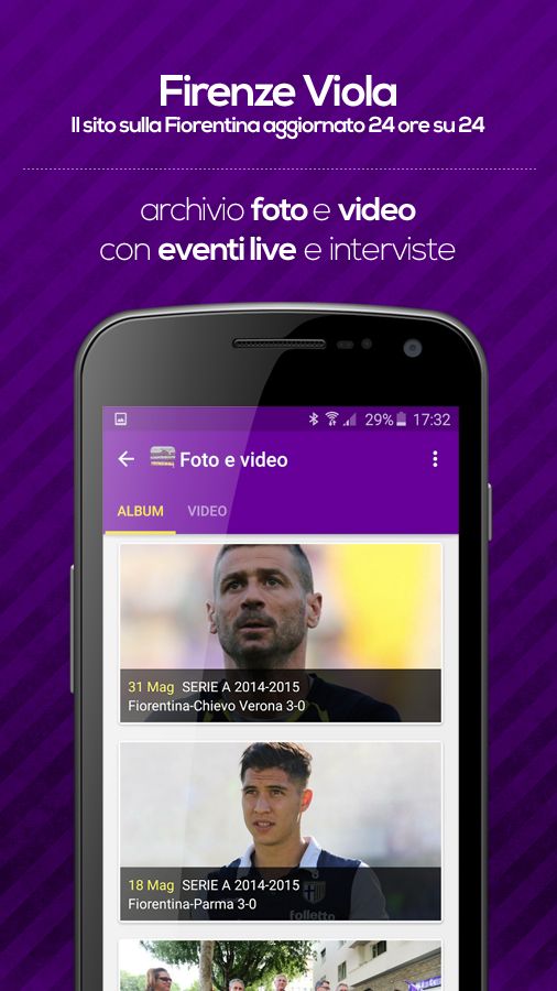 Firenze Viola - Fiorentina- screenshot