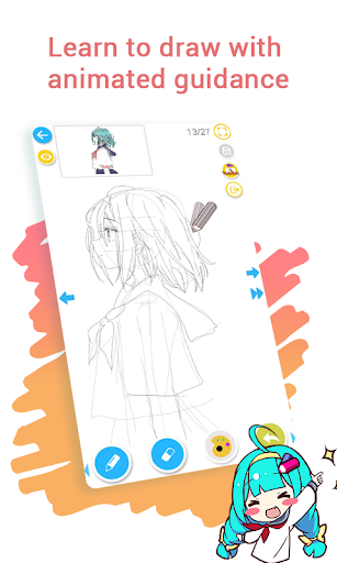 How to draw anime & manga with tutorial - DrawShow 5.0.0.3 3