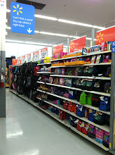 Photo: All the shelves were fully stocked at this store. Ready for back to school shoppers.