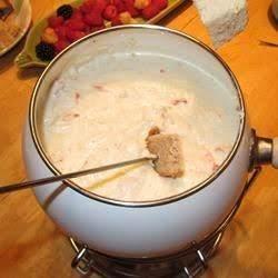 Crab Cheese Fondue Recipe