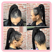 Straight Up Braids Beautified Hairstyles