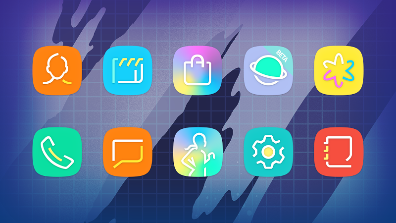 ULTRA - 80s Vaporwave Icon Pack Screenshot 15