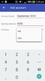 Wallet - Offline Money Tracker - náhled