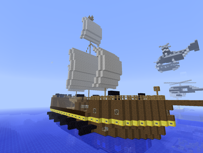 Cool Minecraft Ship Ideas Android Apps