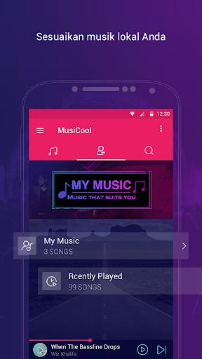 Pemutar Musik Gratis Tanpa Batas u2013 Music Go 1.5.1 screenshots 3