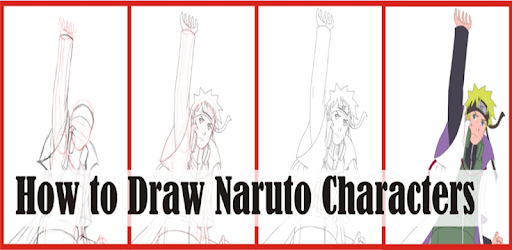 How to draw naruto character step by step easily